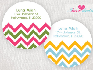 Chevron Stickers