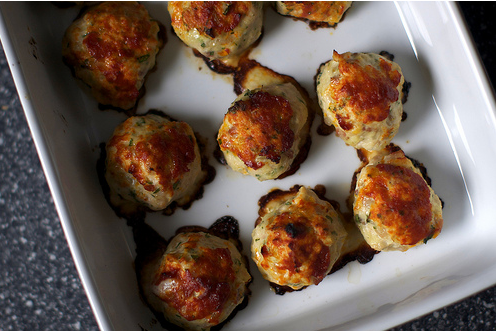 Chicken Meatballs (courtesy of SK website)