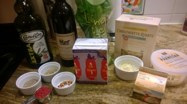 Ingredients for Weeknight Bolognese