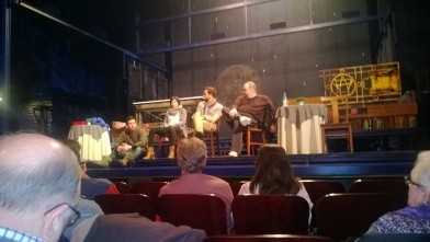 Q & A with the cast post show