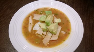 Ina Garten's Mexican Chicken Soup. Perfect for the weather, healthy and delish!
