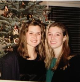 Lynne & Lauren - Pre Tolo - 1992
