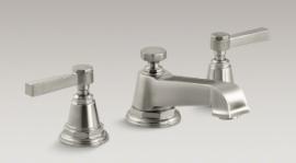 Powder - Pinstripe Lever Faucet