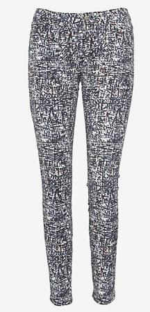 iro.jeans graffiti letter skinny