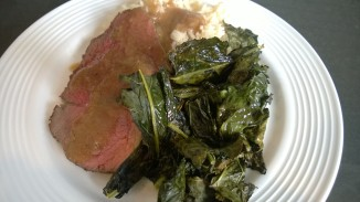 Rump Roast Dinner - it looks pretty