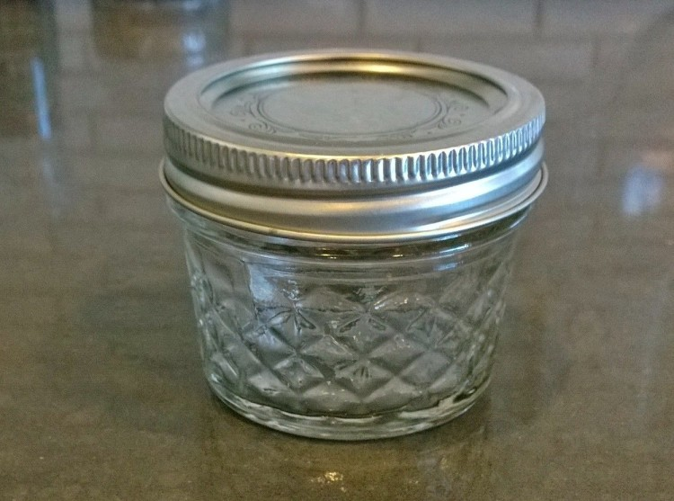 Quilted Canning Jar - 4oz